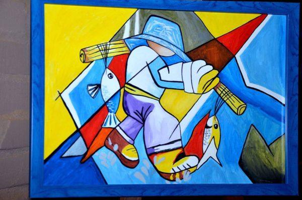 7 წლის გეგა სოფრომაძის ნამუშევარი მსოფლიოს მასშტაბით 650 000 ნახატს შორის შეირჩა